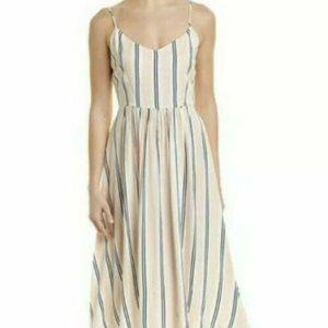 BB Dakota Womens Striped Midi Summer/Spring